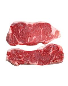BEEF STRIPLOIN (CHILLED) GRASS FED AND FREE RANGE